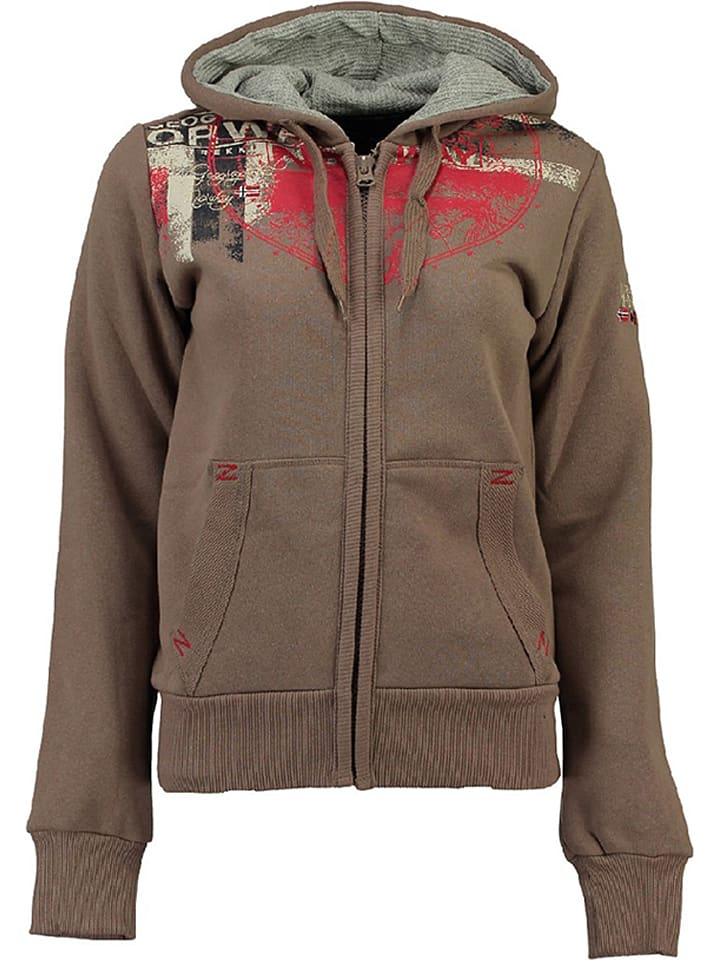 """Geographical Norway Vest """"Gasmine"""" taupe"""