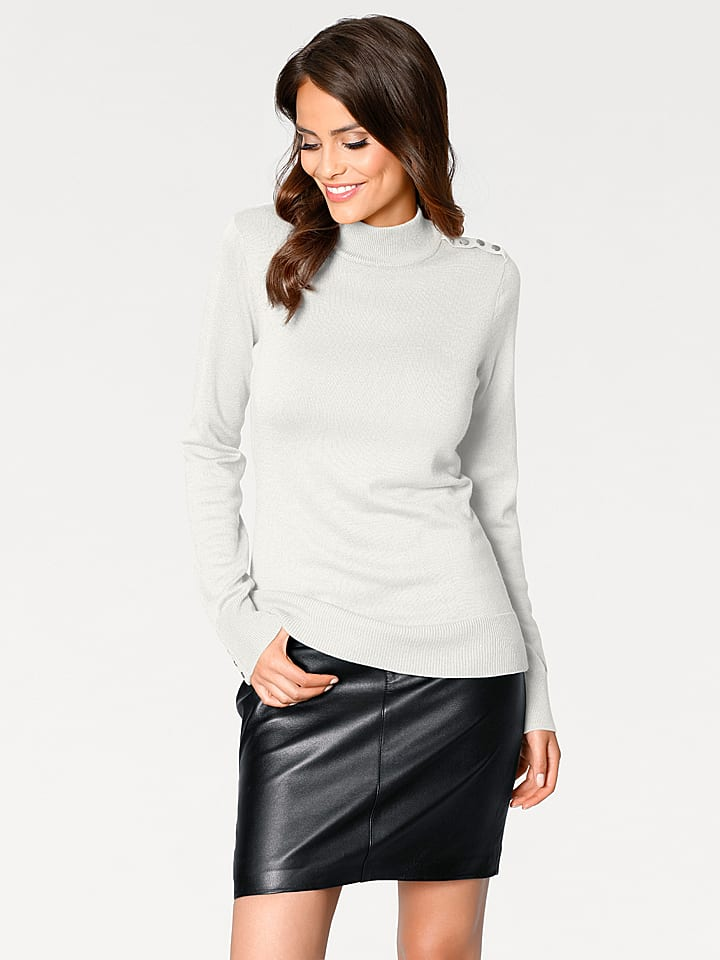 Ashley brooke by heine Pullover in Creme