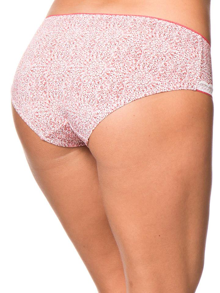"ESPRIT Panty ""Beppa"" in Weiß/ Rot"