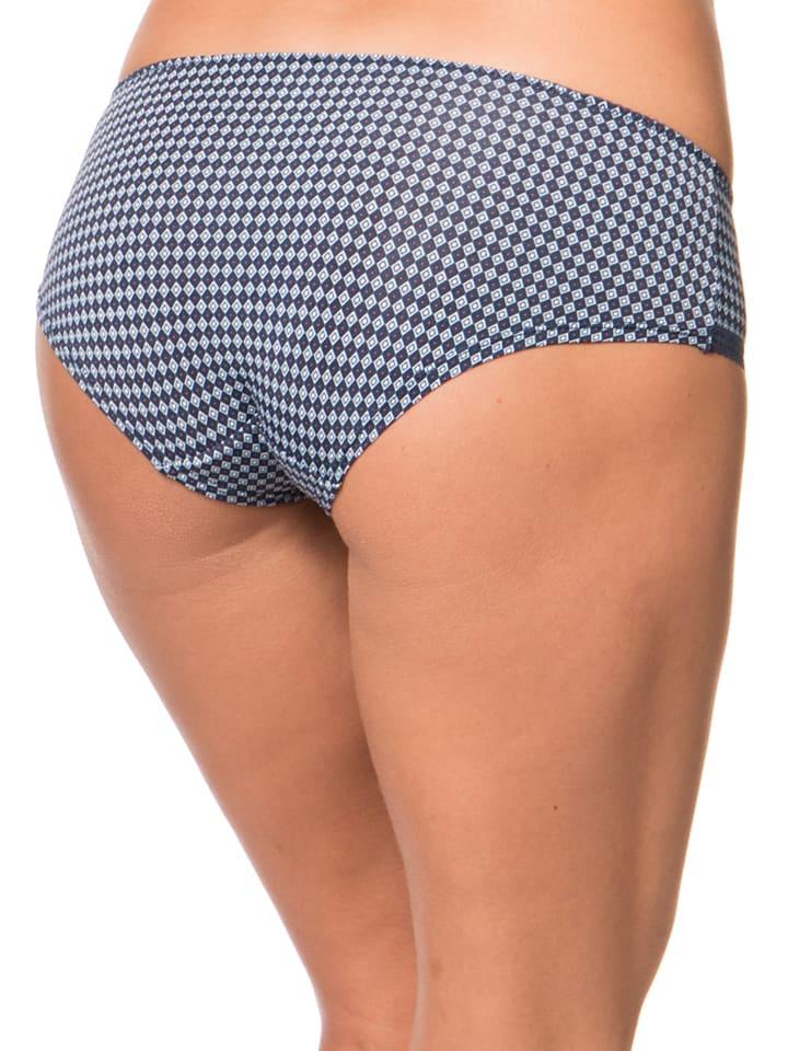 """ESPRIT Panty """"Cara"""" in Dunkelblau/ Hellblau"""