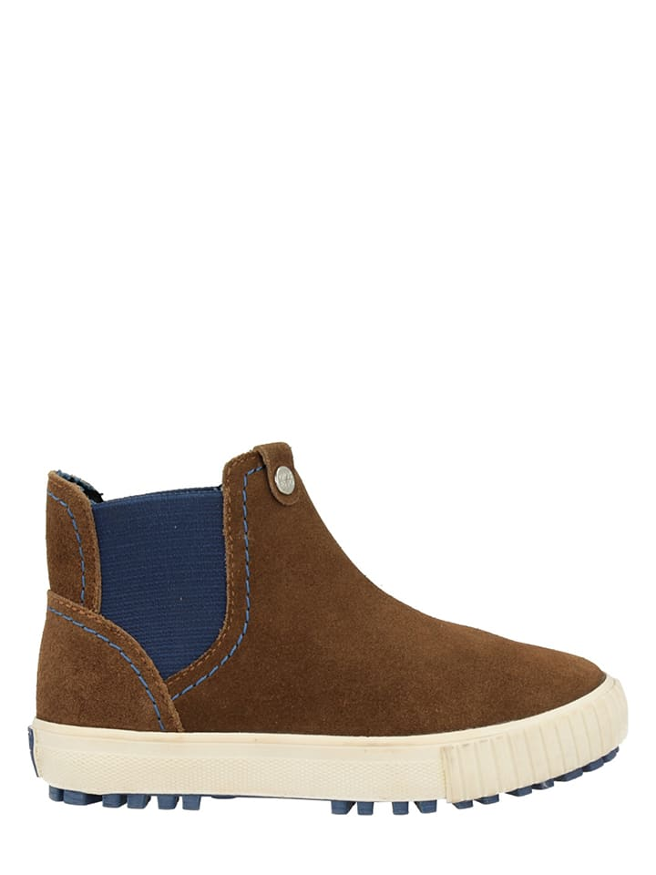 """Gioseppo Leder-Chelsea-Boots """"Sprout"""" in Dunkelbraun"""