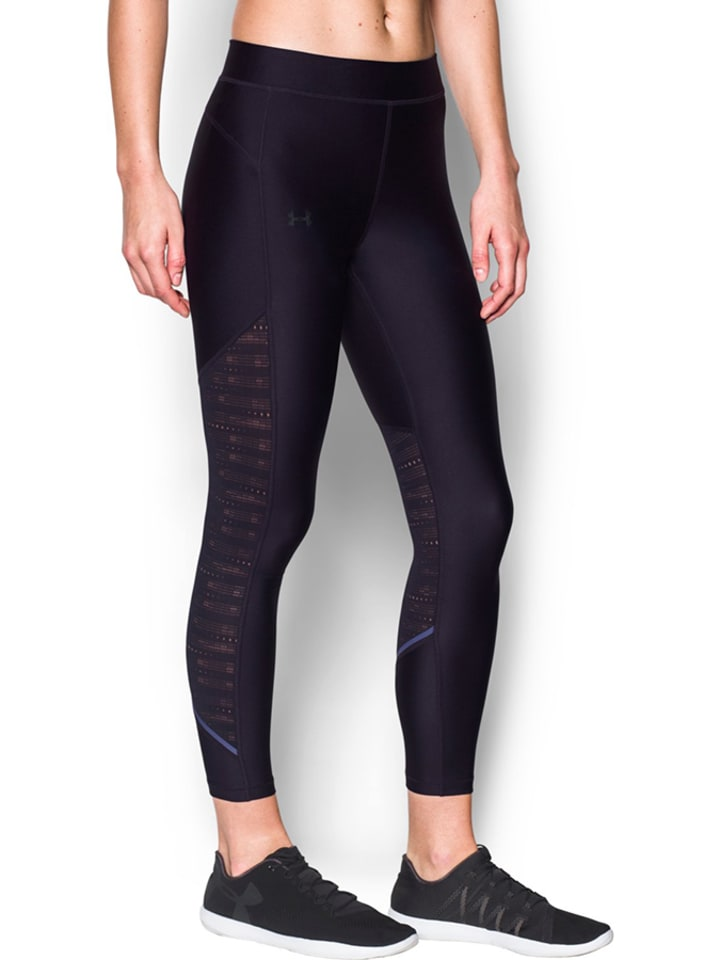 Under Armour Funktionsleggings in Dunkellila