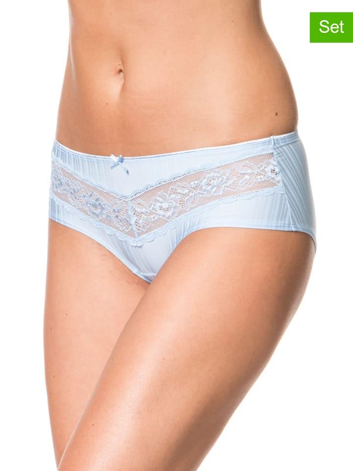 Sassa 2er-Set: Panty in Hellblau