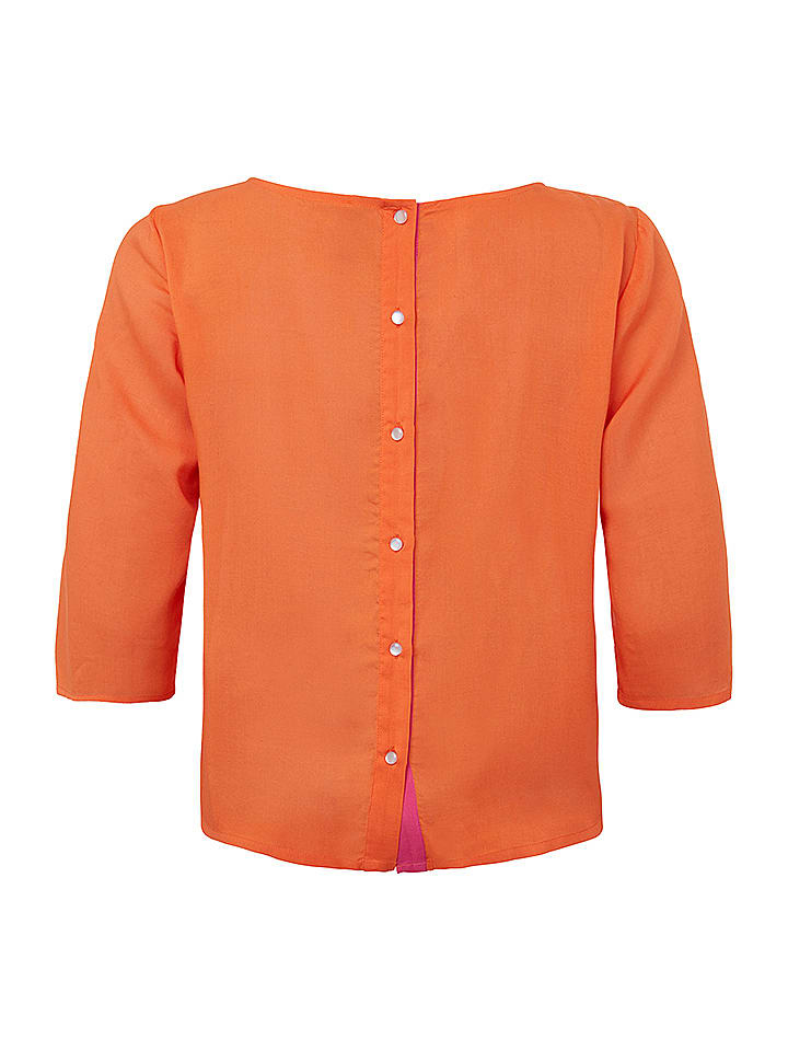 "Tranquillo Cardigan ""Ada"" in Orange"
