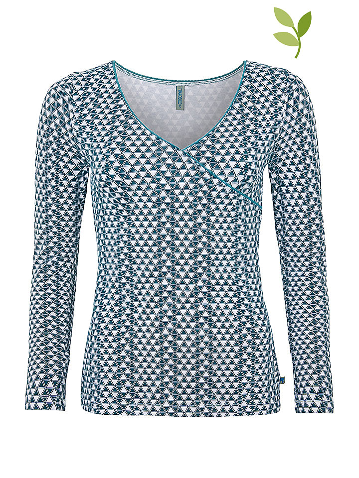 "Tranquillo Shirt ""Loona"" in Blau/ Weiß"