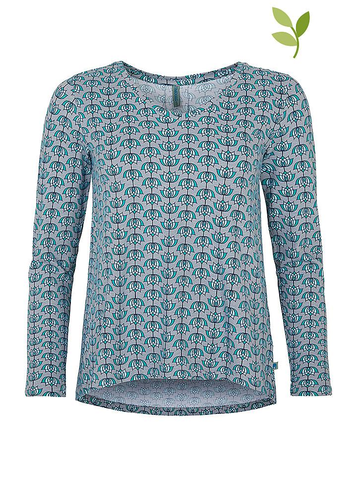 "Tranquillo Shirt ""Hazel"" in Grau/ Blau"