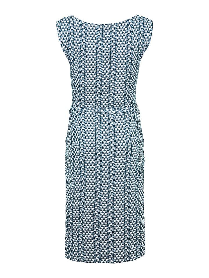 """Tranquillo Kleid """"Jorinde"""" in Blau/ Weiß"""