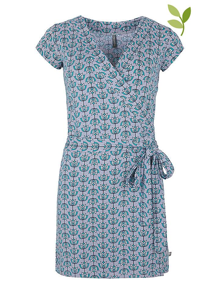 """Tranquillo Kleid """"Hedda"""" in Grau/ Blau"""
