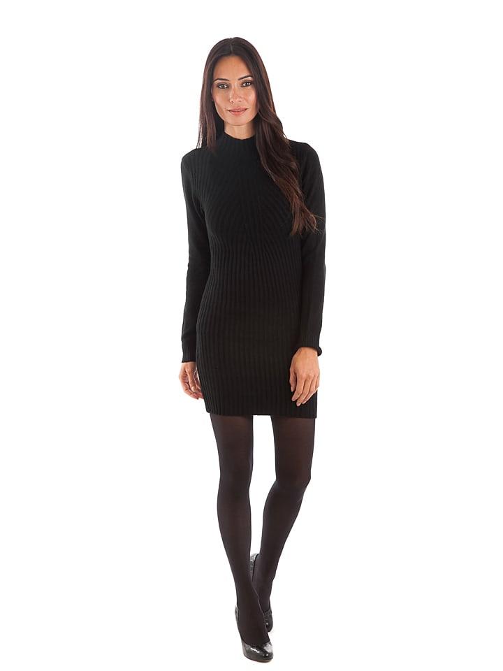Cashmere 4ever Kleid in Schwarz