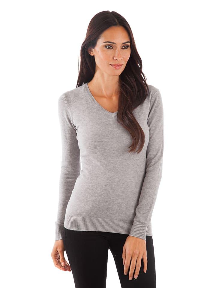 Cashmere 4ever Pullover in Grau