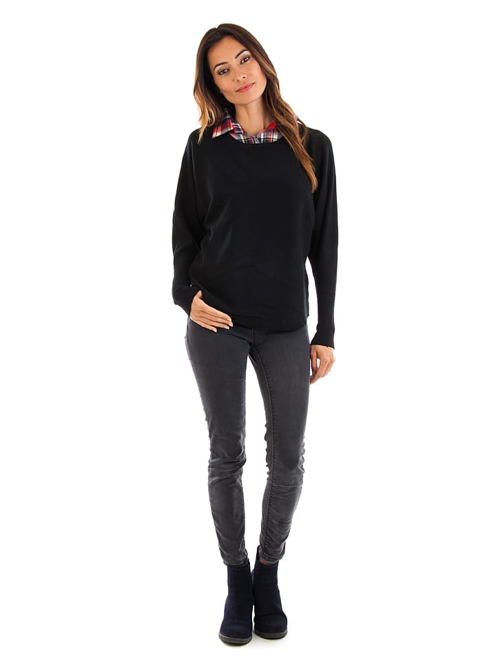 Cashmere 4ever Pullover in Schwarz
