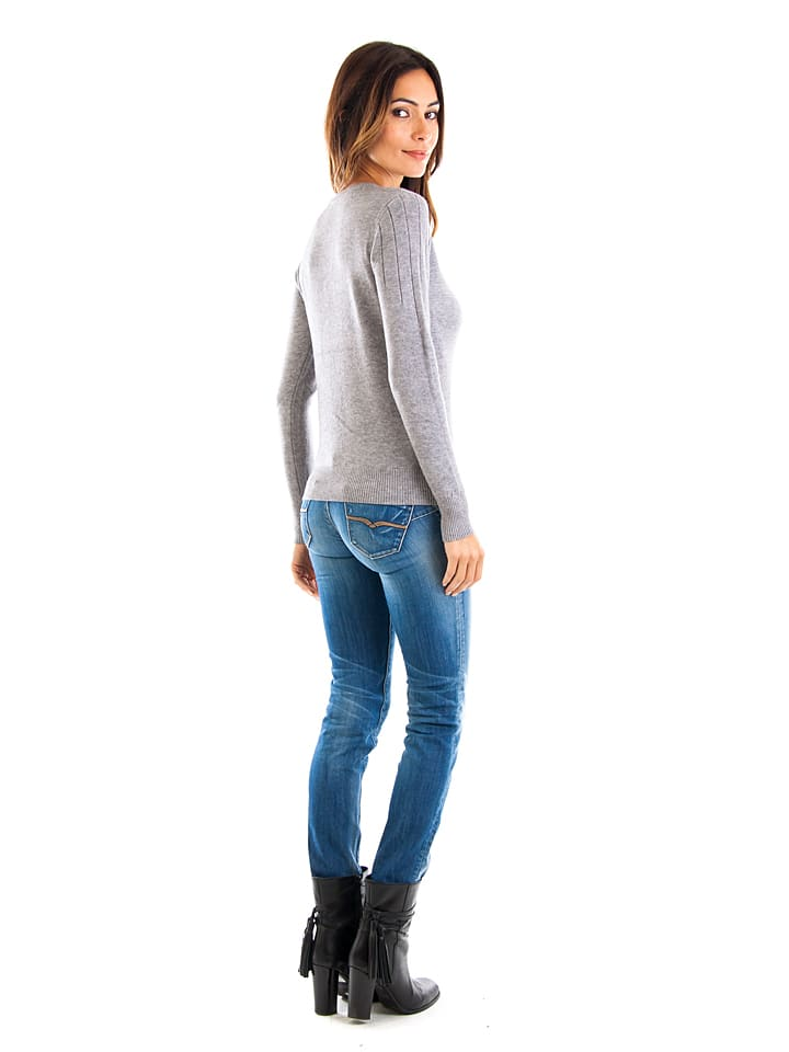 Cashmere 4ever Pullover in Grau