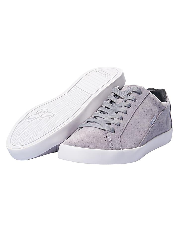 Hummel ... LederSneakers Cross Court in Dunkelblau 47 6UczfYGS ... Hummel ca2b26