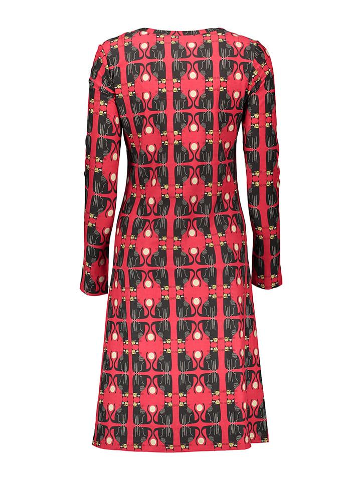 Bakery Ladies Kleid in Rot/ Schwarz