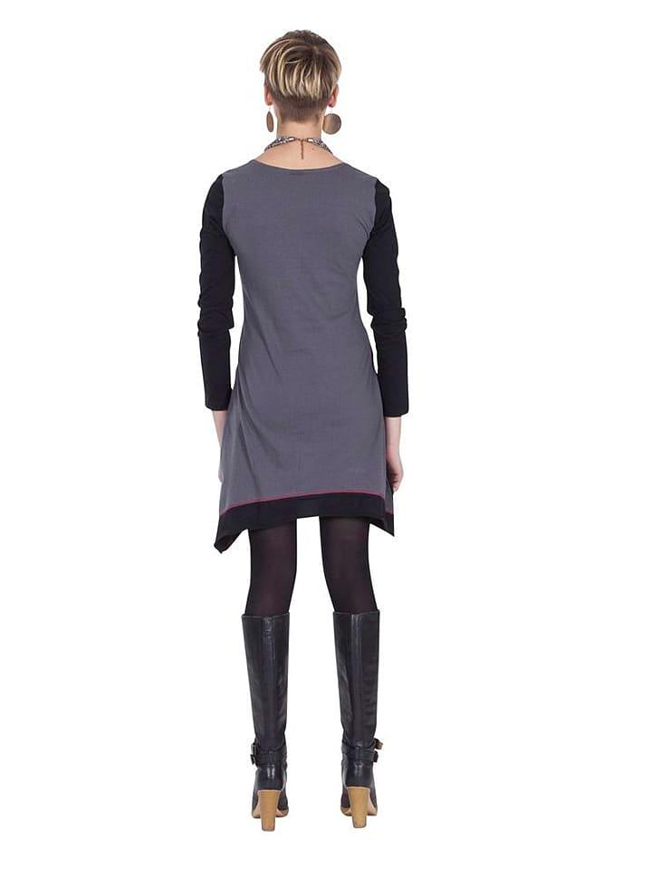 Aller Simplement Kleid in Grau