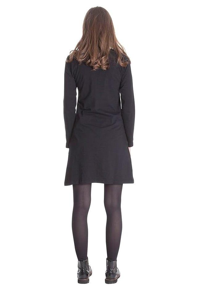 Aller Simplement Kleid in Schwarz