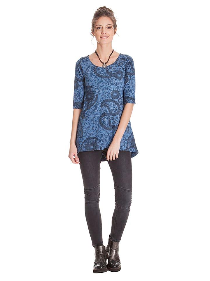 Aller Simplement Shirt in Blau