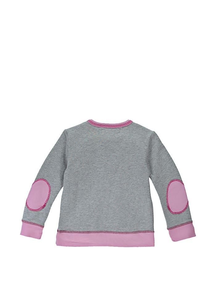 Lamino Sweatshirt Einhorn in Grau