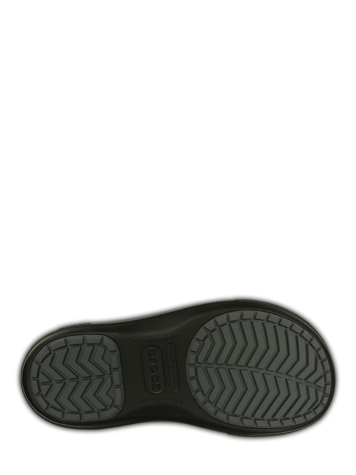 """Crocs Winterstiefel """"Crocband II.5 Cinch Boot"""" in Schwarz/ Grau"""
