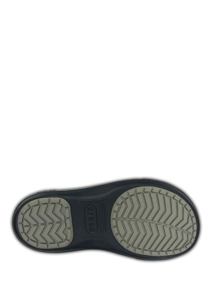 "Crocs Winterstiefel ""Crocband II.5 Cinch Boot"" in Dunkelblau/ Hellgrau"