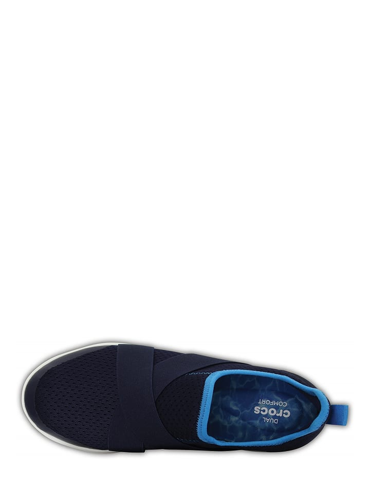 "Crocs Slipper ""Swiftwater"" in Dunkelblau/ Blau"