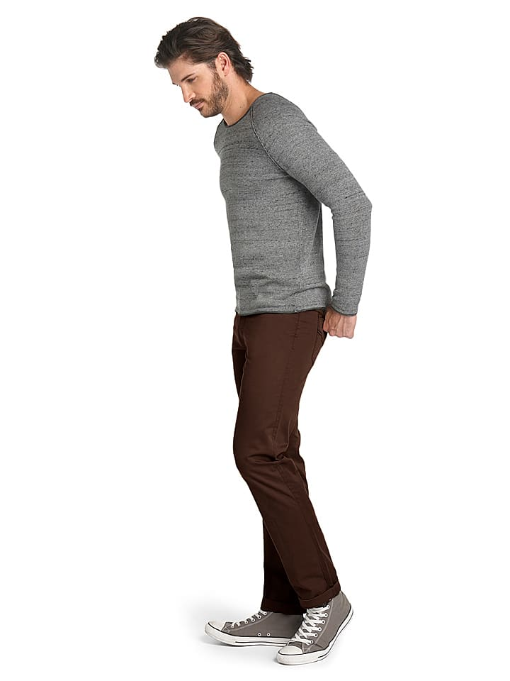 "H.I.S Chino ""Stanton"" - Regular fit - in Braun"
