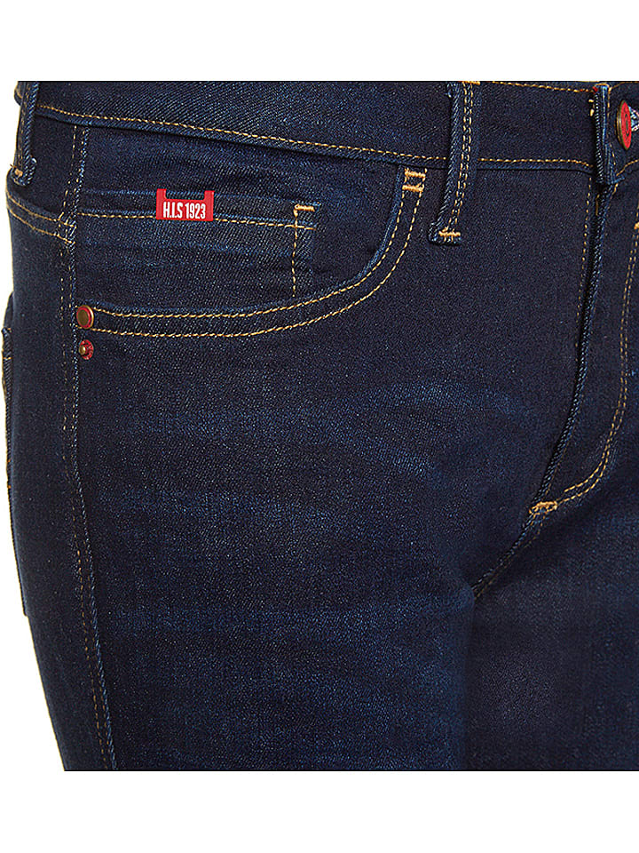 "H.I.S Jeans ""Sunny"" - Bootcut fit - in Dunkelblau"