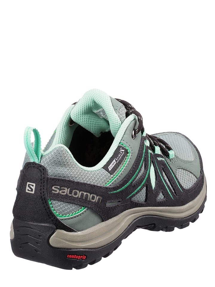 "SALOMON Wanderschuh ""Ellipse 2"" in Schwarz/ Grau/ Mint"