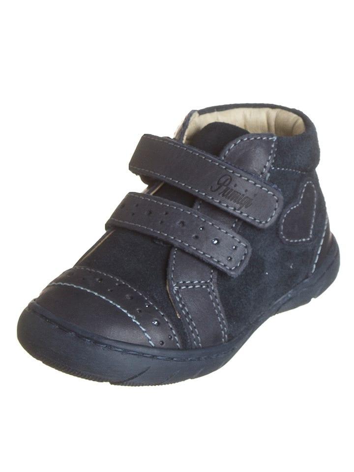 Primigi Skórzane sneakersy w kolorze granatowym