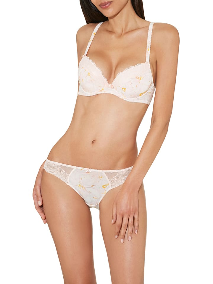 Aubade Push-up-BH Magic Blossom in Rosé/ Gelb