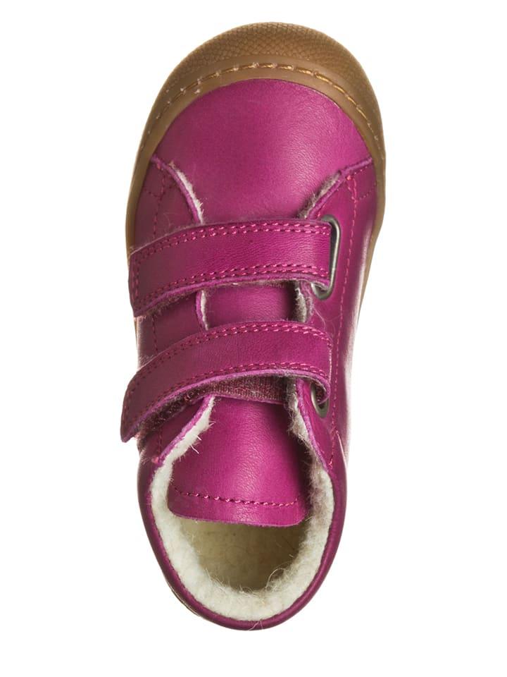 Naturino Leder-Halbschuhe in Pink