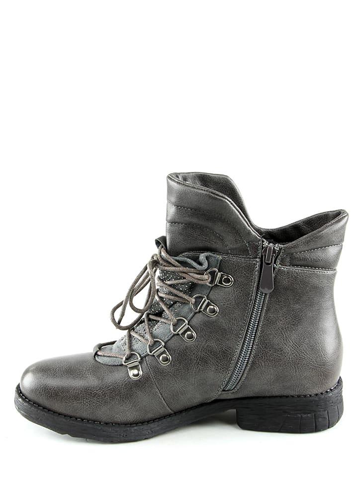 La Bottine Souriante Boots in Grau