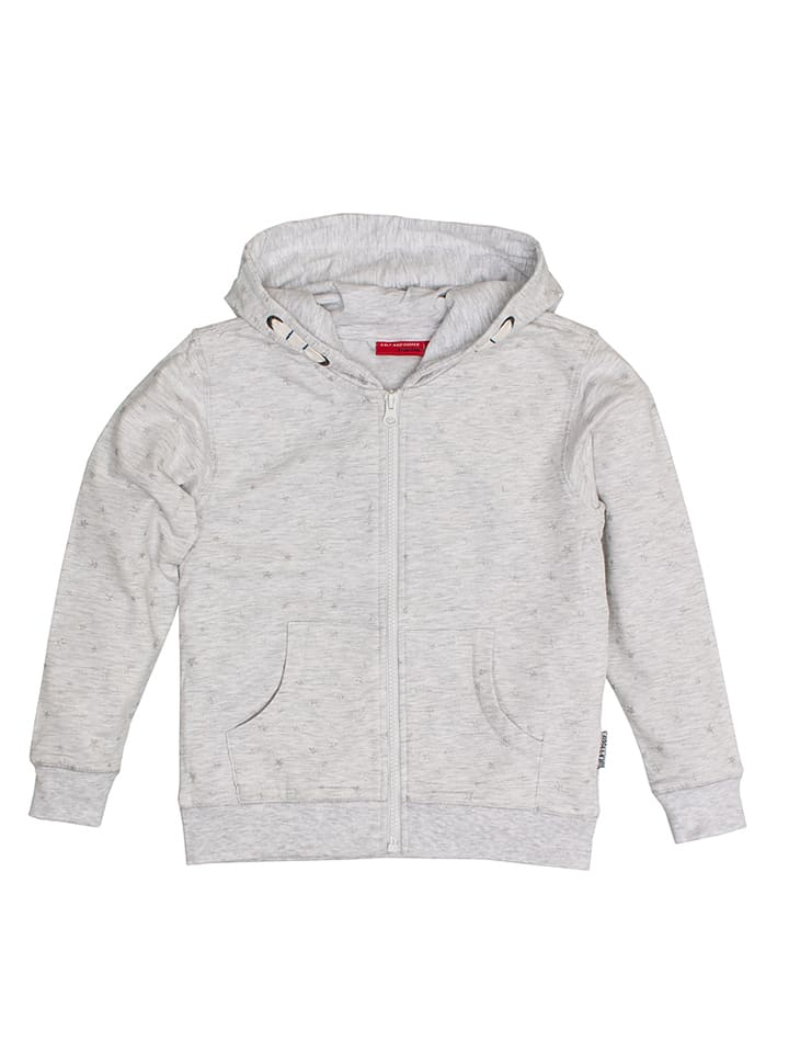 Salt and Pepper Sweatjacke in Grau