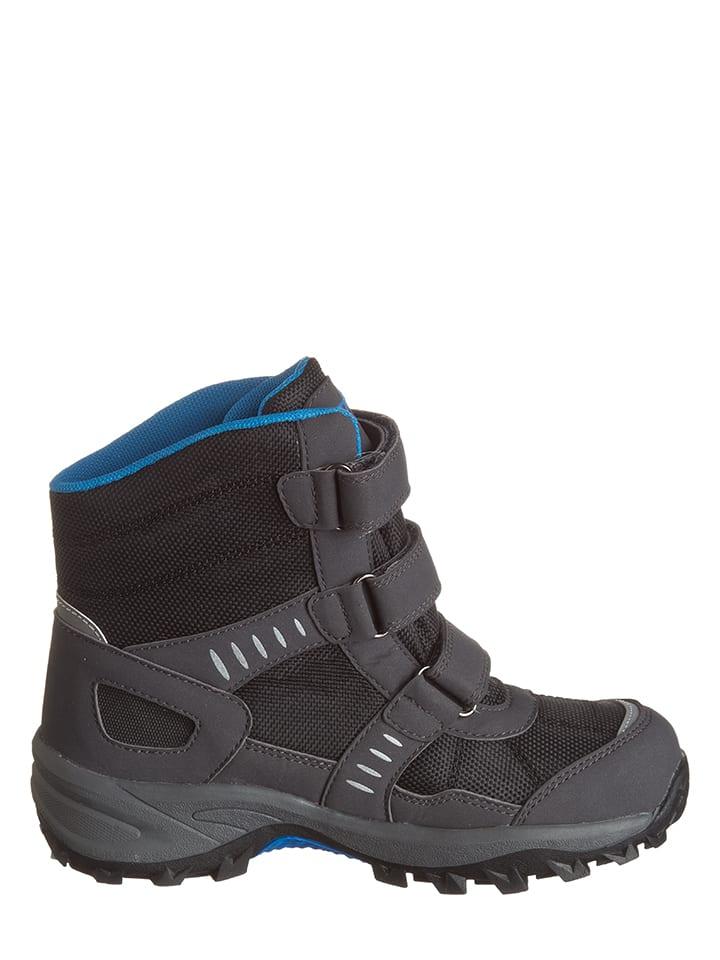 Kastinger Winter-Boots in Schwarz/ Blau