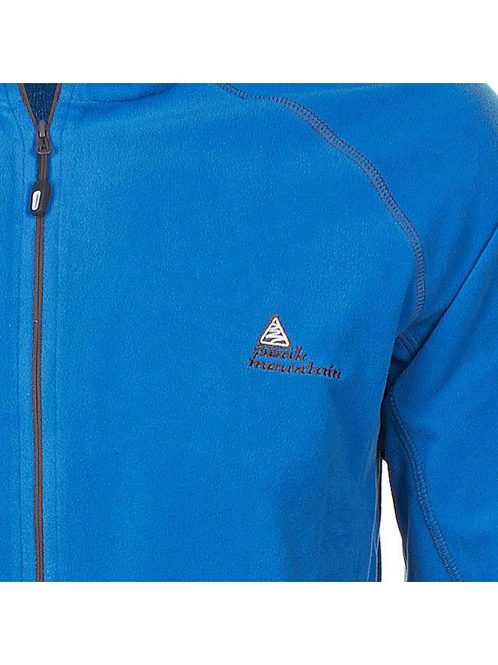 Peak Mountain Fleecejacke Cafone in Blau