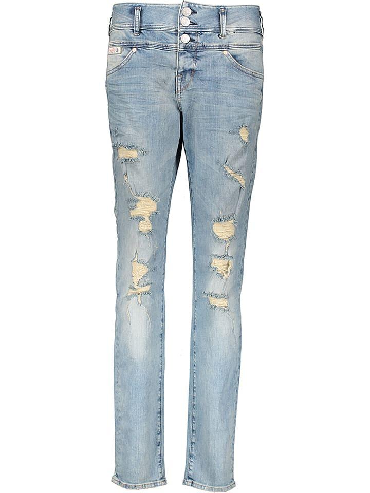 Herrlicher Jeans Raya Boy in Hellblau
