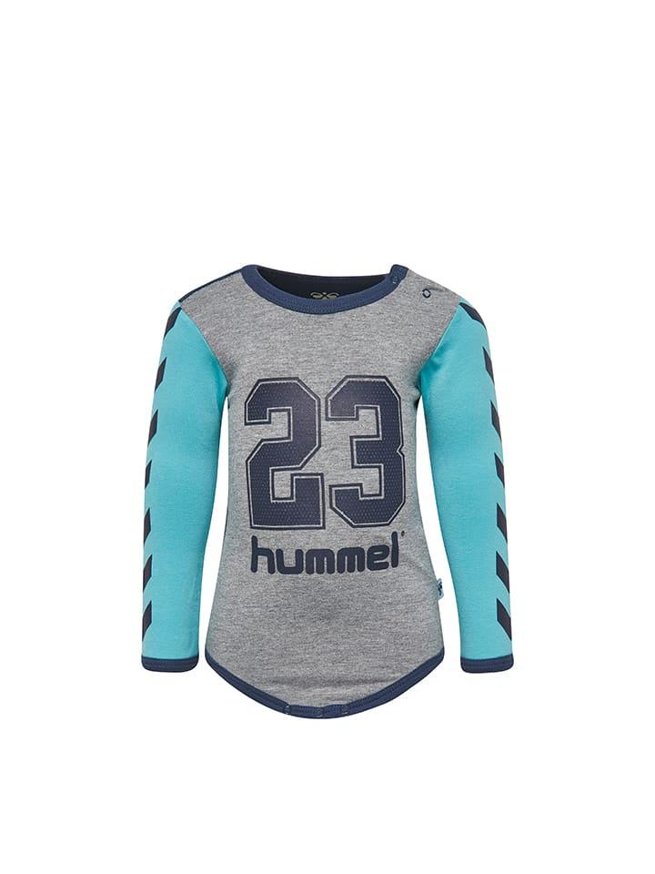 """Hummel Body """"Kevan"""" in Grau/ Dunkelblau/ Türkis"""