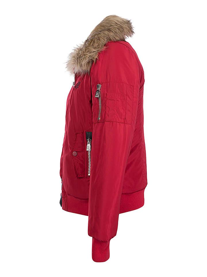 GIORGIO DI MARE Winterjacke in Rot