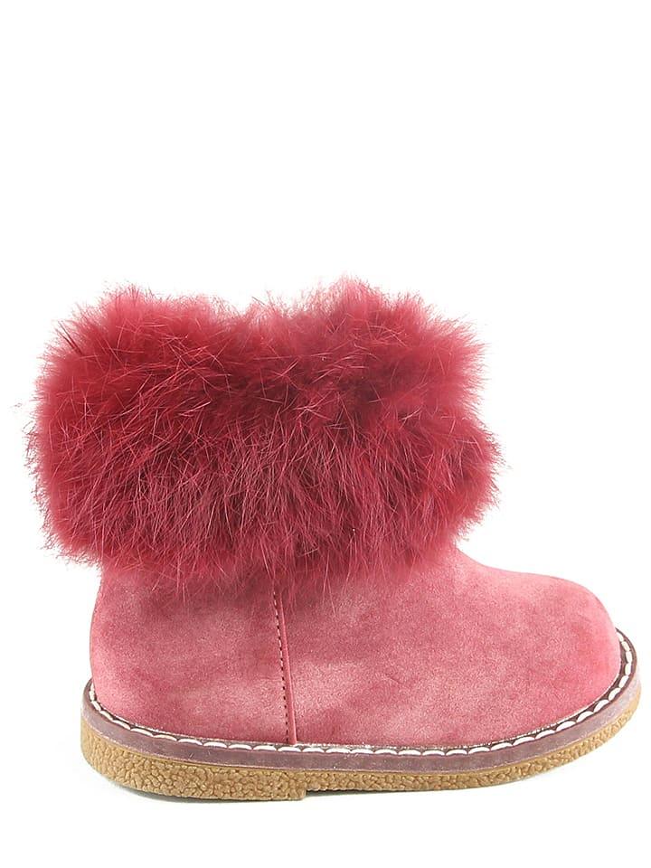 Doremi Boots in Rosa