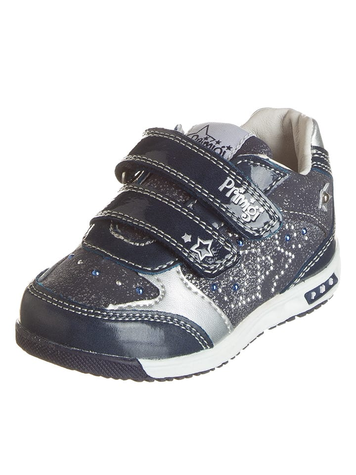 "Primigi Sneakers ""B.Jogging"" in Dunkelblau/ Silber"