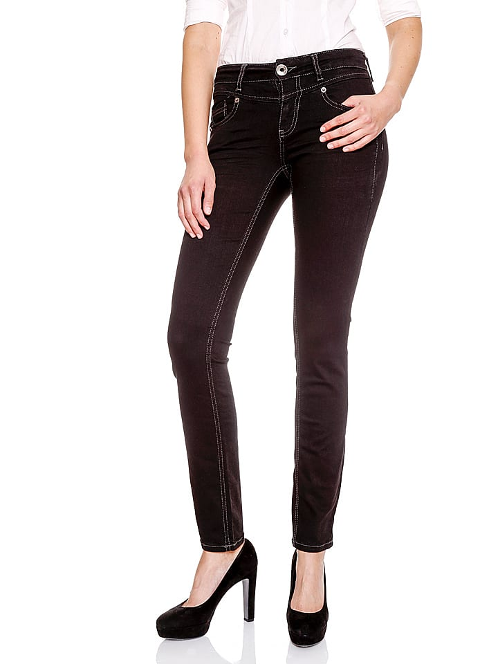 Amor, Trust & Truth Jeans Zoe - Slim fit - in Schwarz