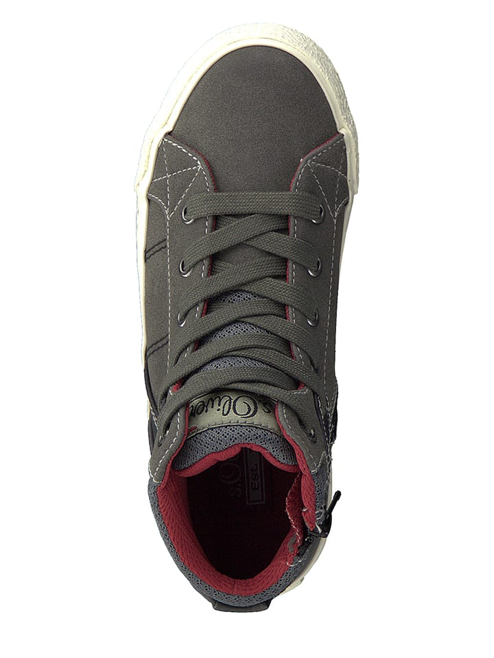 S. Oliver Sneakers in Grau