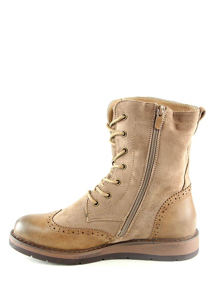 Sixth Sens Boots in Cognac