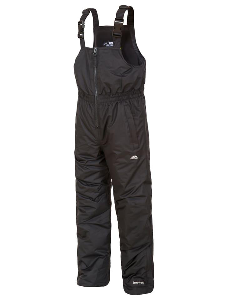 """Trespass Spodnie narciarskie """"Kalmar"""" w kolorze czarnym"""