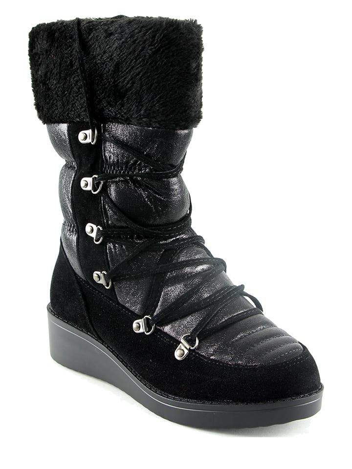 Catisa Boots in Schwarz