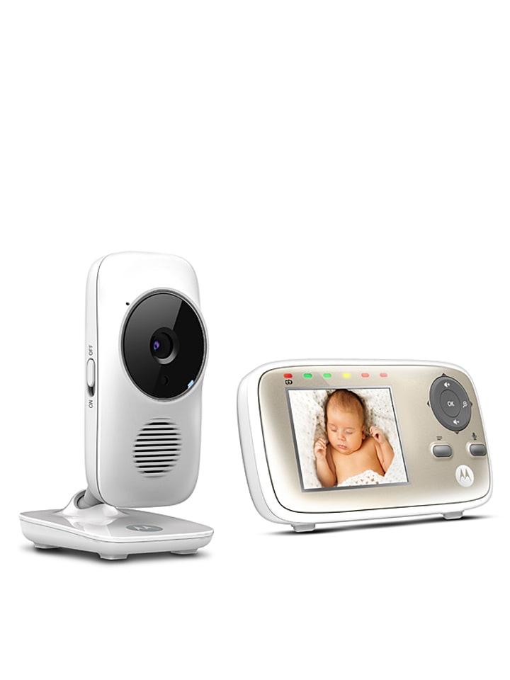 """Motorola Video-Babyphone """"MBP 483"""" in Weiß"""
