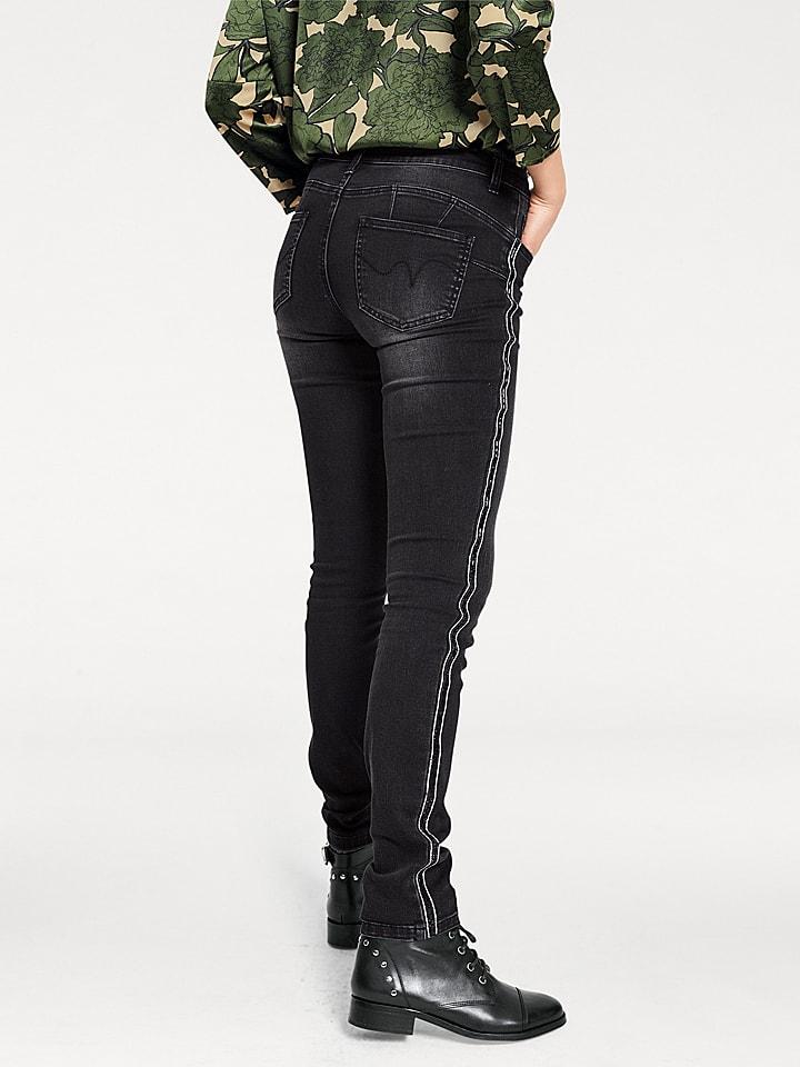 B.C. Best Connections by heine Jeans - Regular Rise - in Schwarz