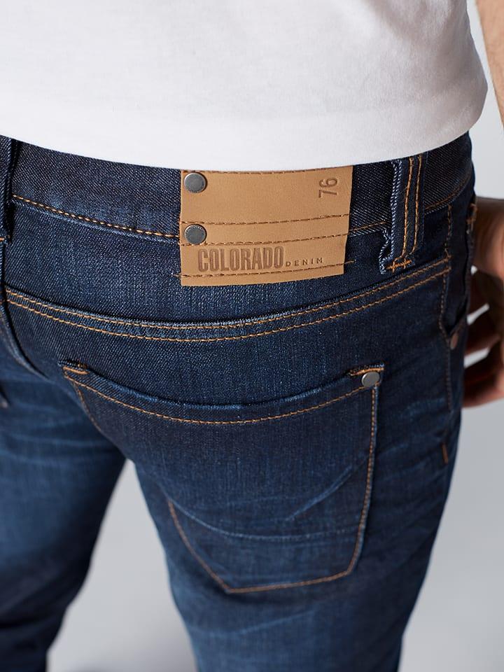 Colorado Jeans Jeans C942 Luke - Slim Fit - in Dunkelblau
