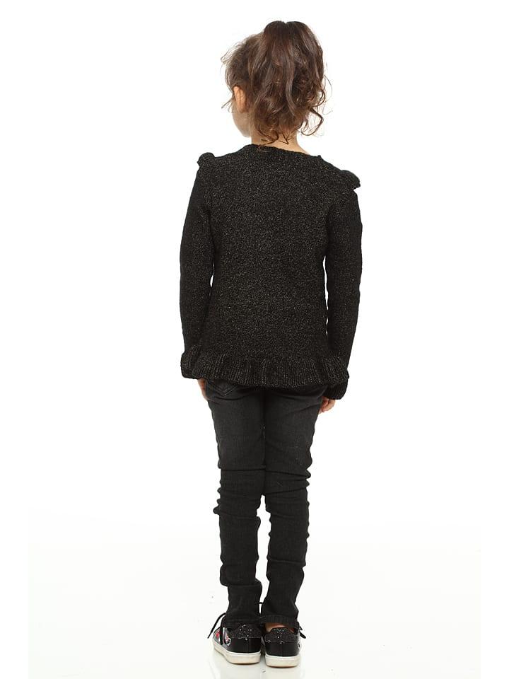 La Petite Parisienne Kids Pullover in Schwarz
