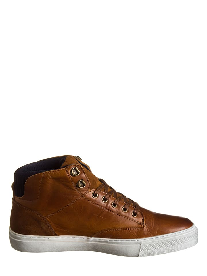 Otto Kern Leder-Sneakers in Silber - 64% ElbcW